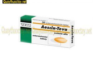 thuốc Aescin 50mg