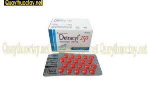thuốc Detracyl