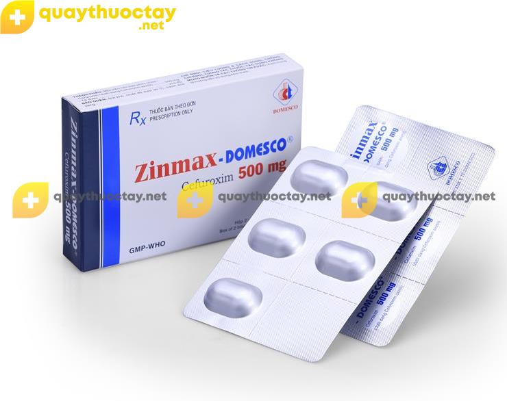 Thuốc Zinmax Domesco
