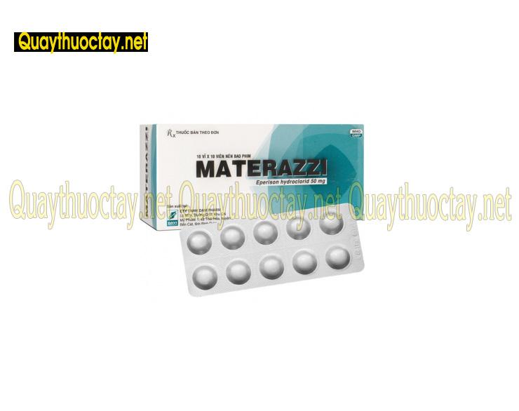 thuốc materazzi