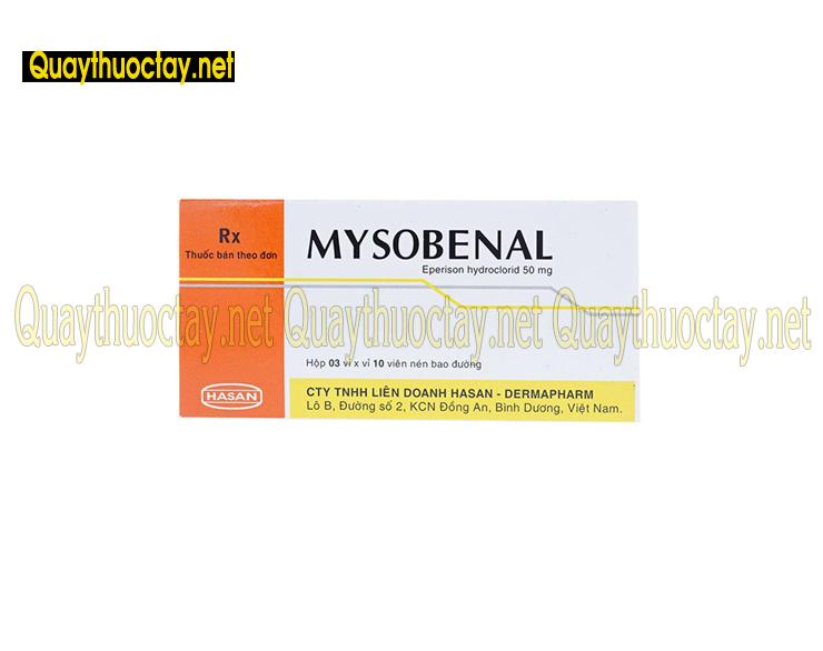 thuốc mysobenal