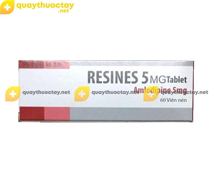 Thuốc Resines 5mg