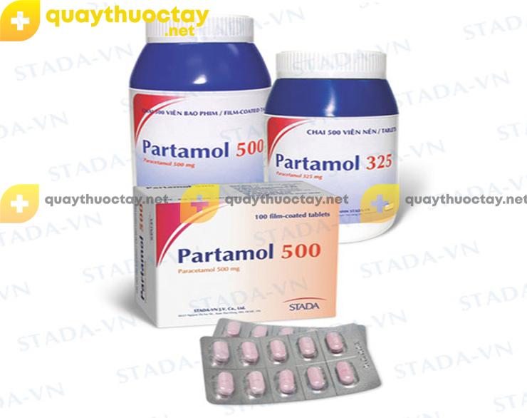 thuốc Partamol