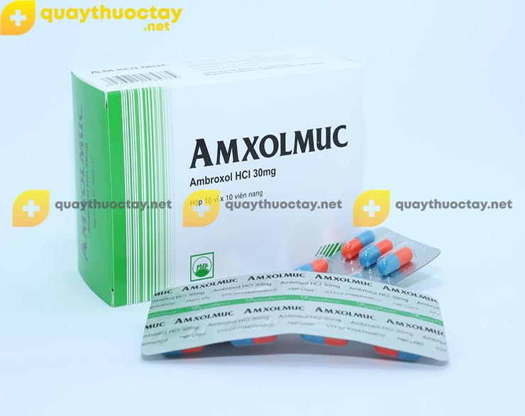 Thuốc Amxolmuc