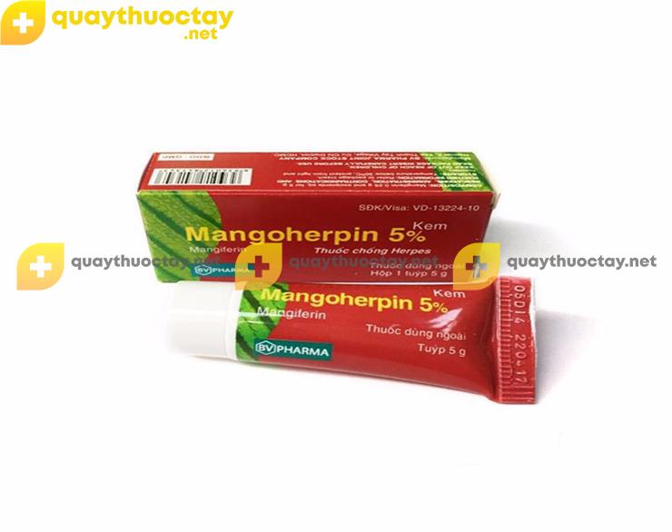 Thuốc Mangoherpin 5%