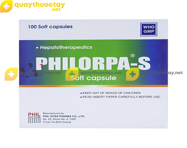 Thuốc Philorpa-S