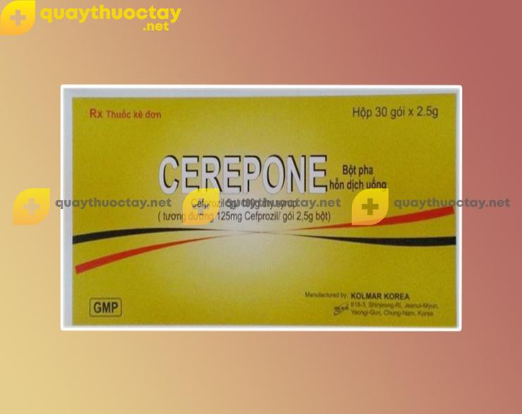 Thuốc Cerepone