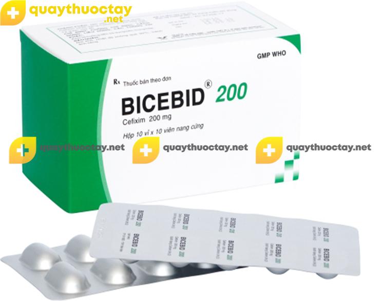 Thuốc Bicebid 200