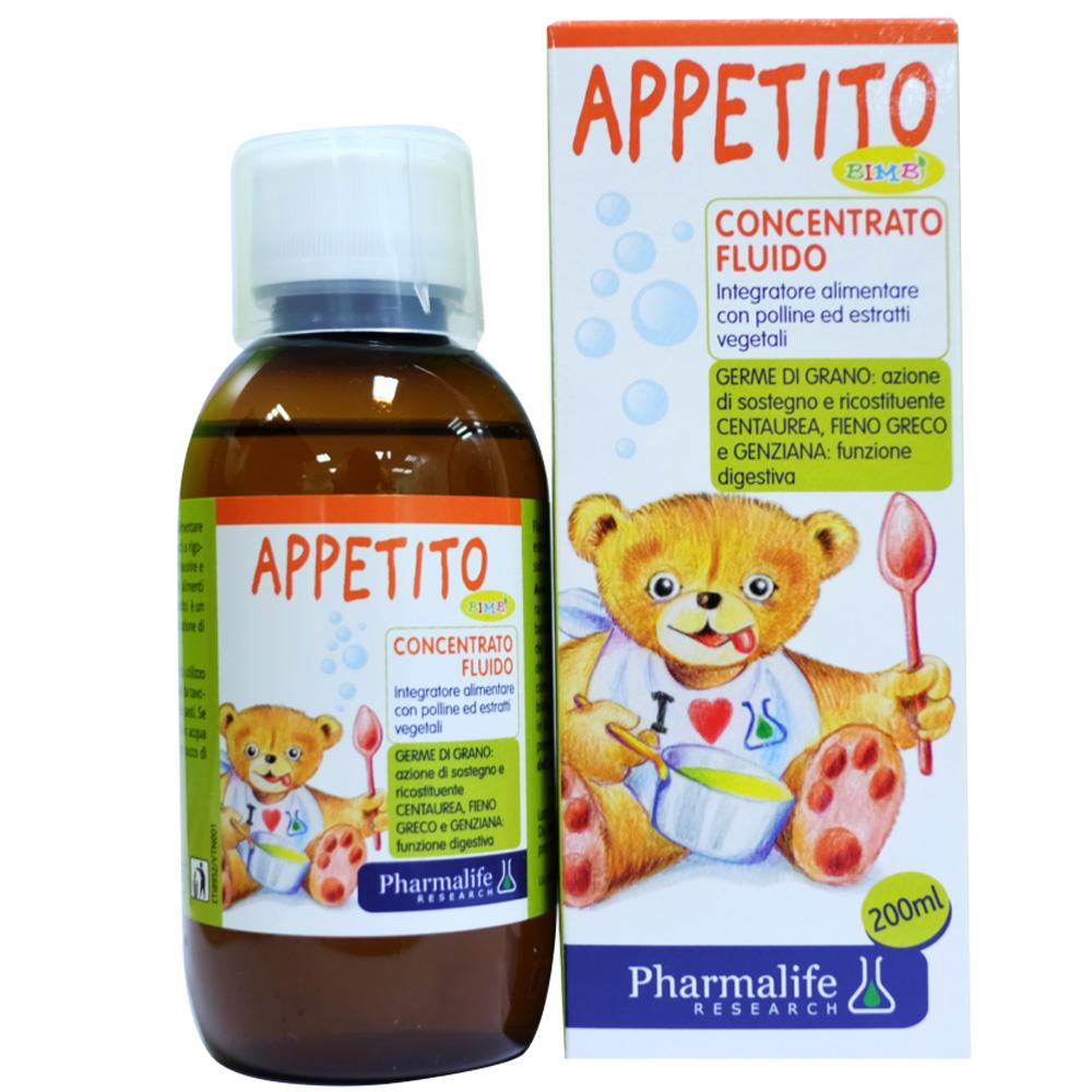 Siro ăn ngon từ thảo dược chuẩn hoá châu Âu Appetito Bimbi