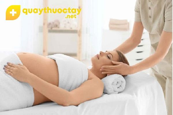Lợi ích khi massage cho bà bầu