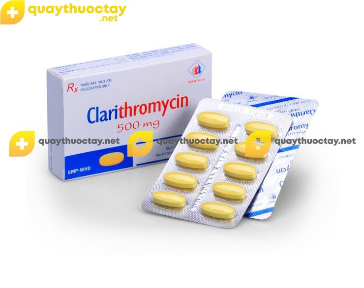 Thuốc Clarithromycin