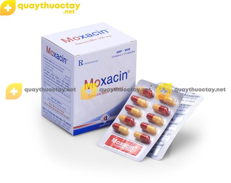 Thuốc Moxacin