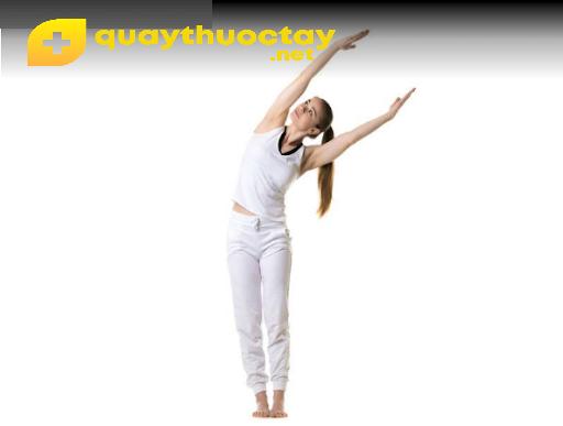 Tư thế nghiêng người trong yoga cho bà bầu