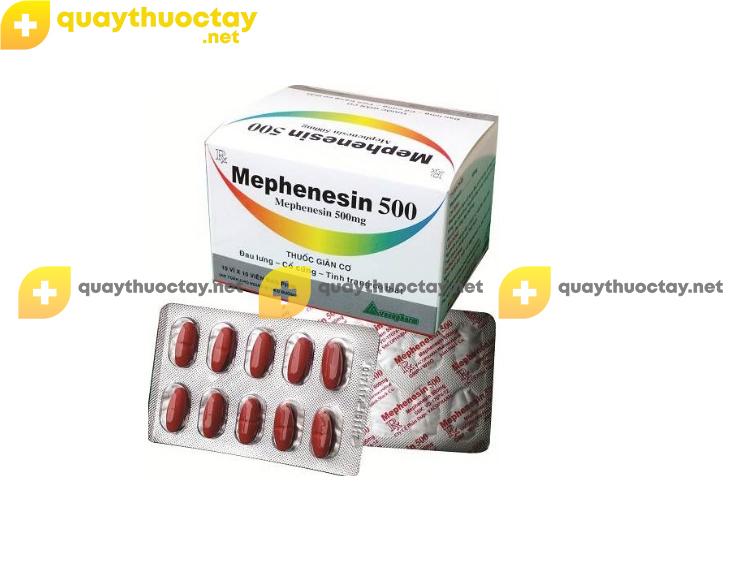 Thuốc Mephenesin