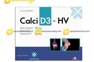 Thuốc Calci D3 – HV
