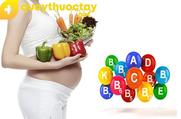 Vì sao nên dùng vitamin tổng hợp cho bà bầu