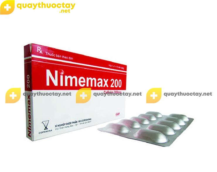 Thuốc Nimemax 200