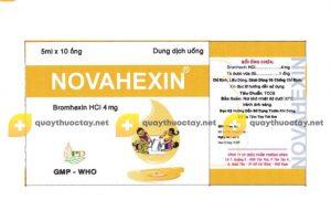 Thuốc Novahexin