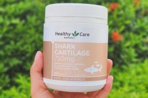 Sụn cá mập Úc Healthy Care - diện mạo mới, hỗ trợ bảo vệ sức khỏe người dùng