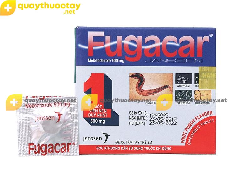 Thuốc Fugacar