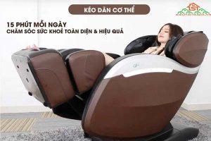Ghế massage ELIP chăm sóc sức khỏe cho cả gia đình